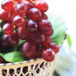Red grapes — Stock Photo #35924437