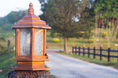 Antique lamppost — Stock Photo