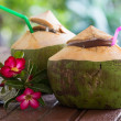Coconut water drink — Stock Photo #39218785