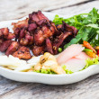 Fried sour ribs pork — Stock Photo #39219155