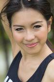 Portrét atraktivní asijské ženy — Stock fotografie