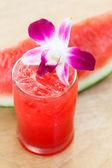 Fresh watermelon smoothie — Foto Stock