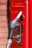 Red retro gasoline pump  — Foto Stock