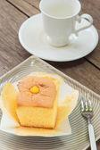 Japoński bawełny sernik — Zdjęcie stockowe