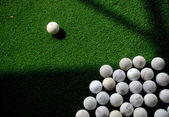Golf, thinking difference — Stock Photo