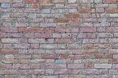 Ancient Wall - Brick Texture — Stock Photo