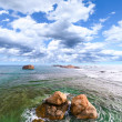 Rocks in the Ocean - Stock Photo