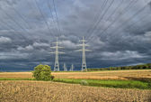 Power Lines — Stock Photo