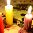 Royalty-Free Stock Immagine Vettoriale: Gambling by candlelight