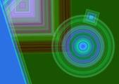 Seamless circle pattern — Stock Photo