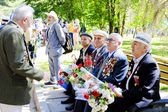 Public events on the victory day — Stock Photo