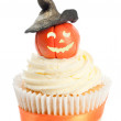 Pumpkin With Witches Hat — Stock Photo #11465033