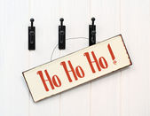 Christmas Sign — Stock Photo