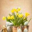 Stock Photo: Easter Setting