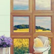 Bathroom Window — Stock Photo