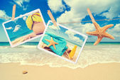 Summer Postcards — Stock Photo