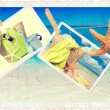 Summer Postcards - Stock Photo