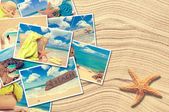 Vacation Postcards — Stock Photo