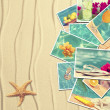 Vacation Postcards - Stockfoto