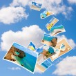Stock Photo: Tourism Postcards