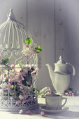Vintage Afternoon Tea — Foto Stock