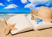 Summer Book — Stock Photo