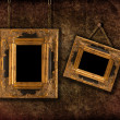 Two Hanging Frames — Stock Photo