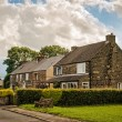 Derbyshire Cottages — Stock Photo