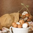 Stock Photo: Bowl Of Eggs