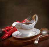 Gravy Boat — Stock Photo