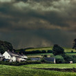 Stormy Hamlet — Stock Photo