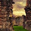 Stock Photo: Abbey Ruins