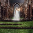 Abbey Ghost — Stockfoto
