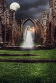 Abbey Ghost — Stock Photo