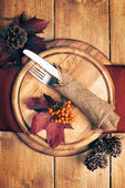 Autumn Table Setting — Foto de Stock