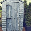 Stock Photo: Garden Shed