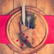 Christmas Table Setting — Stock Photo #34506613