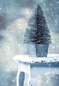 Miniature Christmas Tree — Stock Photo