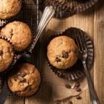 Chocolate Chip Muffins — Stock Photo #35184843