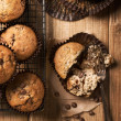 Chocolate Chip Muffins — Stock Photo #35184889