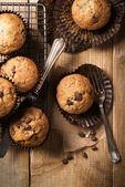 Čokoládové muffiny — Stock fotografie