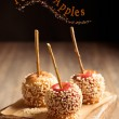 Candy Apples — Stock Photo