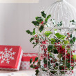 Stock Photo: Holiday Birdcage