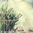 Stock Photo: Christmas Birdcage