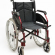 Wheelchair On White — Stock Photo