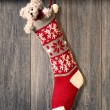 Christmas Stocking — Stock Photo #41439949
