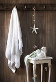 Nautical Bathroom — Stock Photo