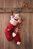 Christmas Stockings — Stok fotoğraf