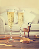 Vintage Champagne — Stock Photo