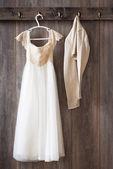 Brudtärnor klänning — Stockfoto